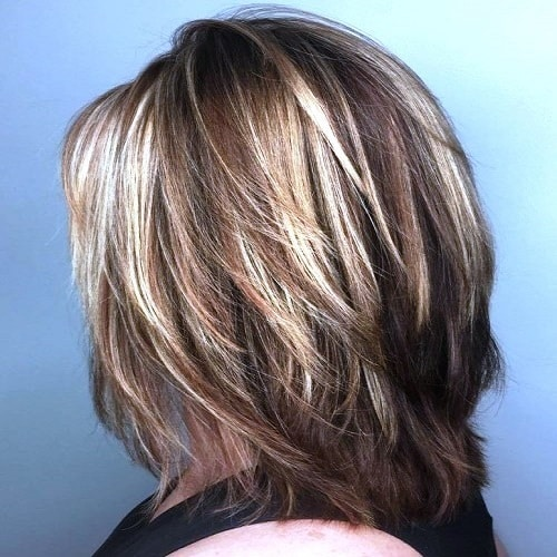 pictures of haircuts for medium length hair 27 medium length hairstyles you need for your next makeover 5791 | Feathered Layered Medium Length Hairstyles