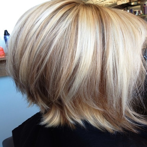 Medium Length Layers with Flipped Ends
