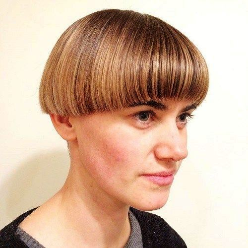 Bowl Cut with Bangs