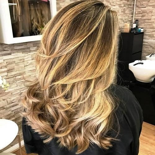Choppy Cut with Sprinkling of Layers for Long Hair