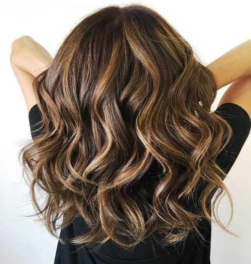 Classic Bouncy Layers Long Hairstyle