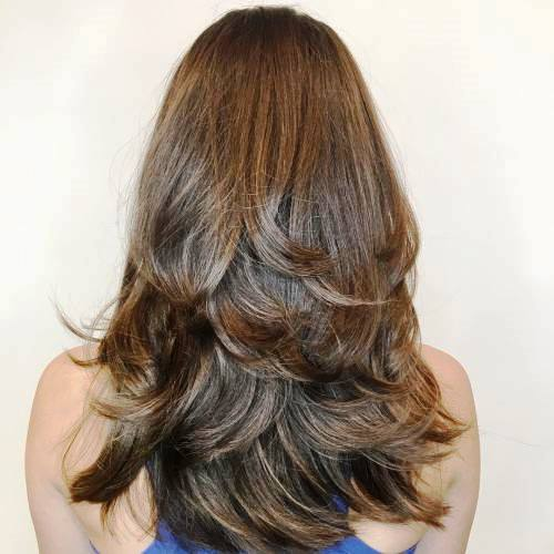 Multilayered Mix Long Hairstyle