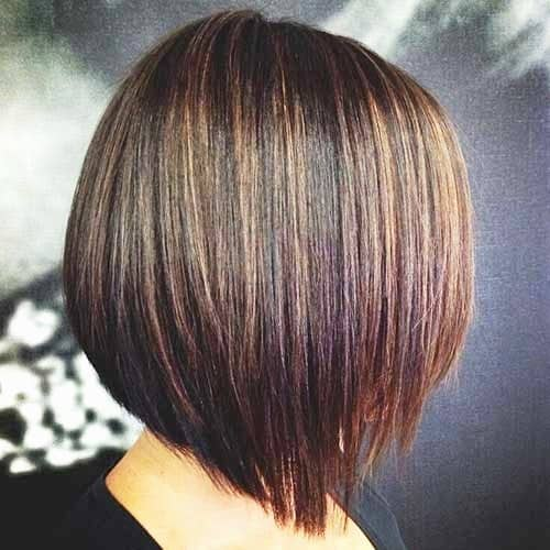 Short Bob with Some Highlights