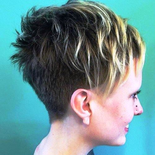 Undercut Pixie and Short Bangs