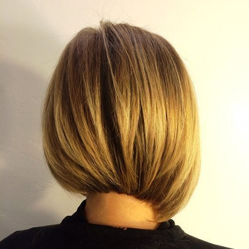 Asymmetrical Blonde Bob with Texture