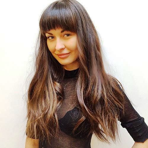 Crystal Ombre Long Bangs