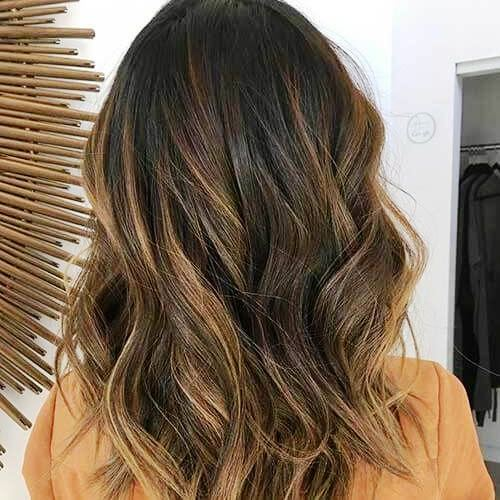Honey Brunette Balayage with Layers