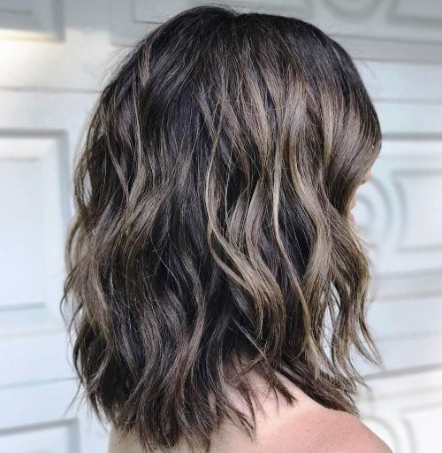 medium length haircuts for thick hair 27 easy medium length hairstyles for thick hair 9690 | Jagged Shag Haircut for Thick Hair