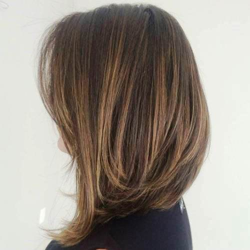27 Super Easy Medium Length Hairstyles For Thick Hair