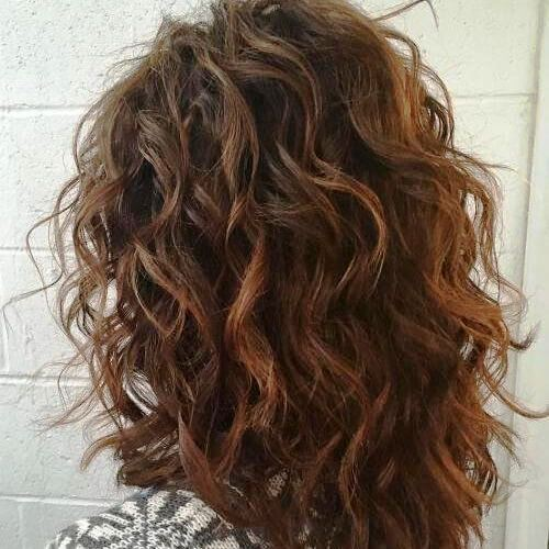 Lively Curls with Medium Length
