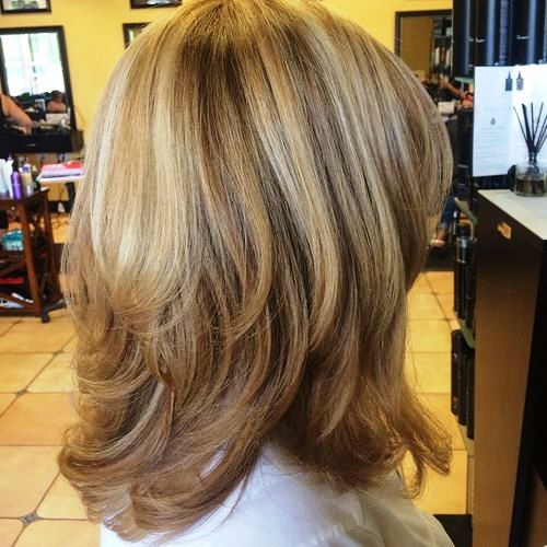 Layered Hairstyles For Women Over 50 50