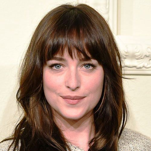 One Length Hair with Bangs
