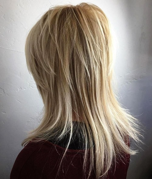 Shag Cut with Swoopy Layers