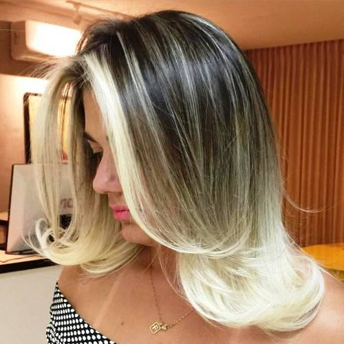 Silky Layers for Long Haircuts with Bangs