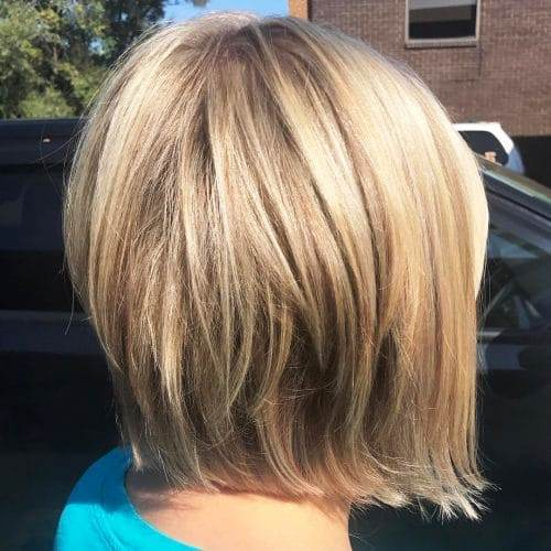 Stacked Bob with Short Layers