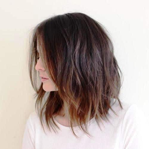 Trendy Messy Tousled Bobs