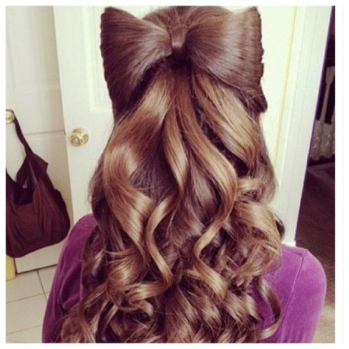 Adorable Sinking Down Long Curls