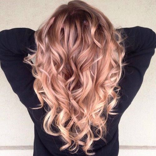 Attractive Gold Highlights