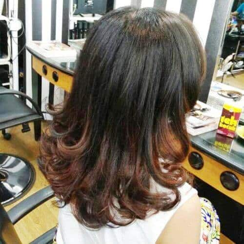 Long to Medium Hairstyles with Curled Ends