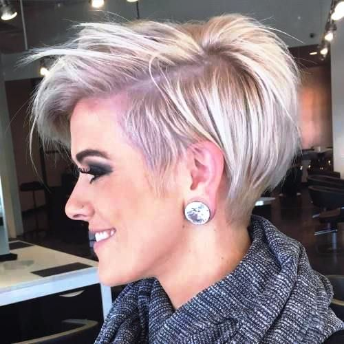 Messy Short Haircut for Women with Twists