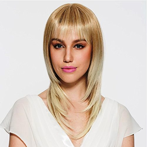 Ombre with Medium Bangs