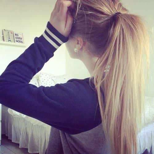 Ponytail with Long Locks