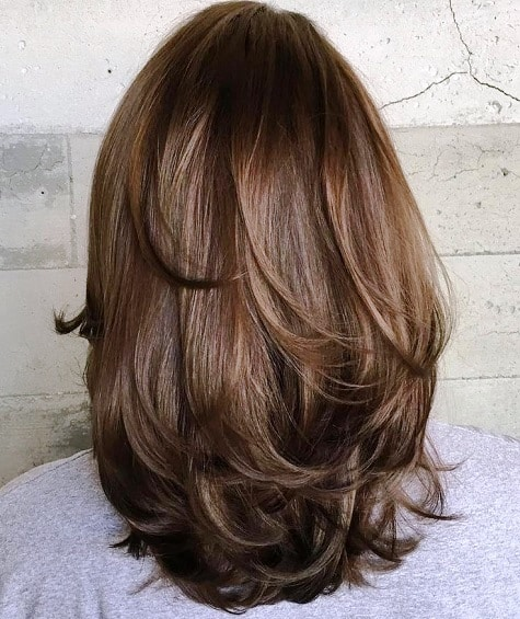 Sensual Multiple Layers with Long Haircuts for Thick Hair