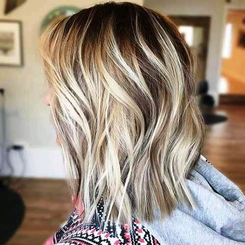 Short to Medium Layered Cut