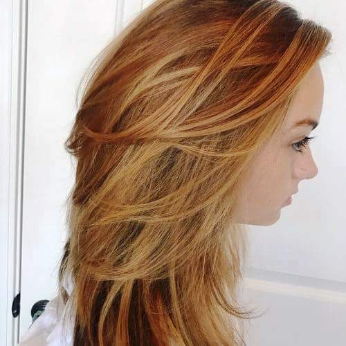 Super Hairdo with Long Front Layers
