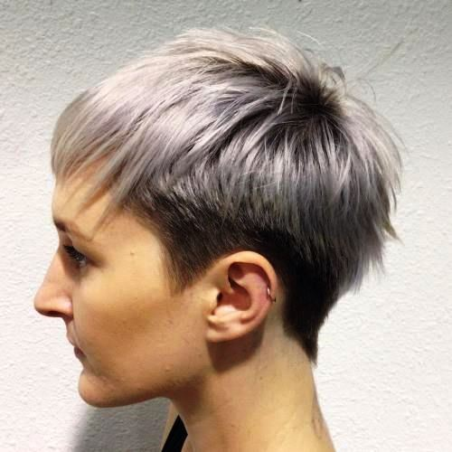 Tapered Bowl Short Haircut for Women