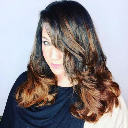 Tousled Long Layered Haircuts