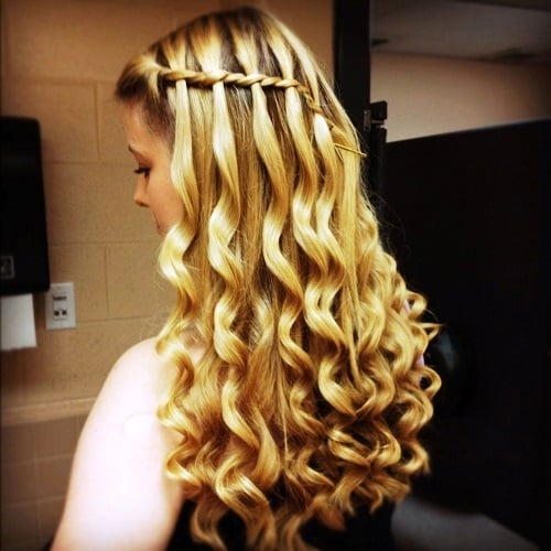 Water Fall Twists and Braid