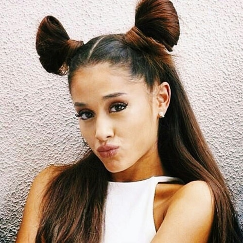 Ariana Grande's Space Buns for You All