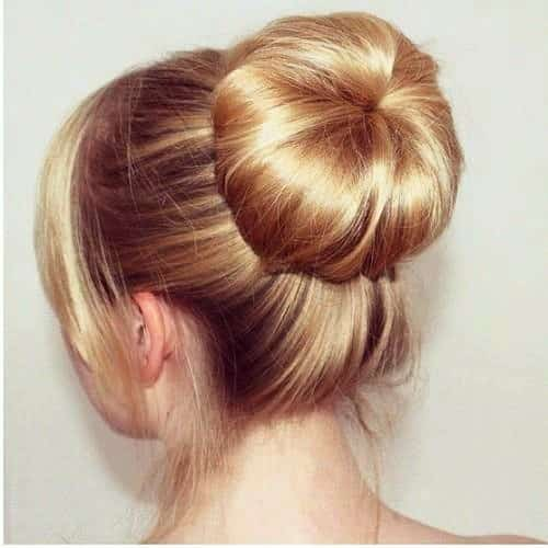 Ballerina Bun is just a 6 Minutes Task