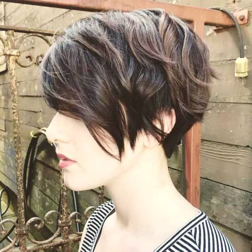Chopped Pixie with Layers