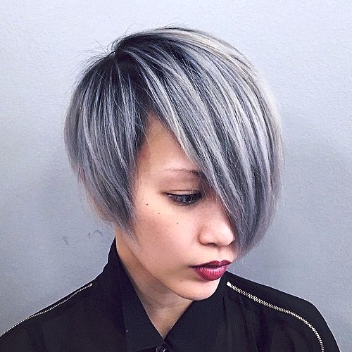 Edgy Asymmetrical Haircut
