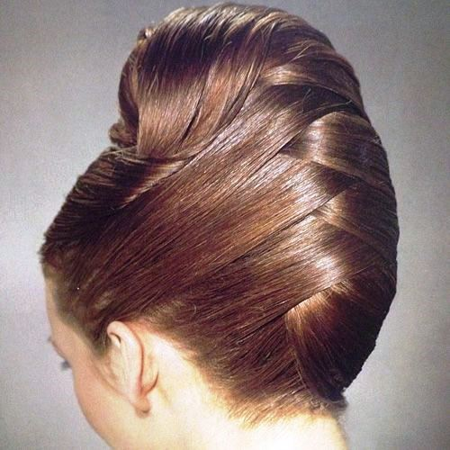 French Twisted Updo to Look Decent