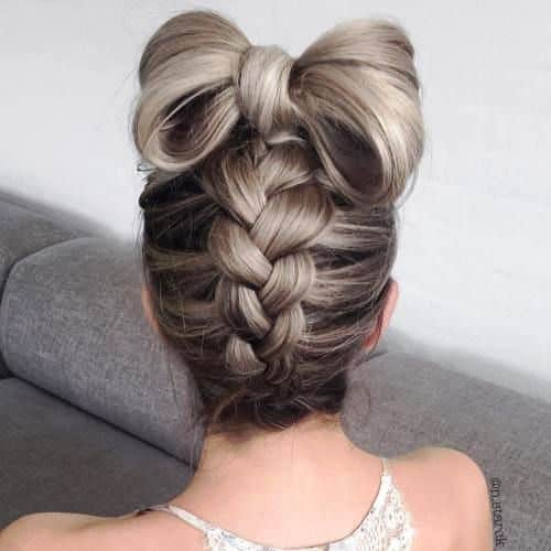Hottest Upside-down Braid Updo