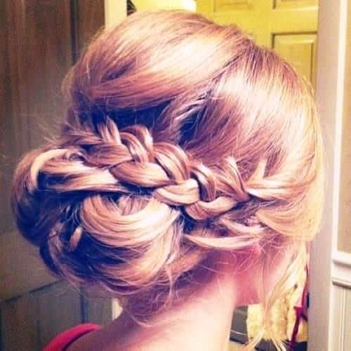 In Vogue Fishtail Updo