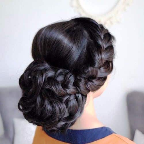 Indian Updo