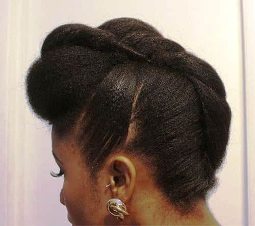 Loose Strands Bun in 60 Seconds