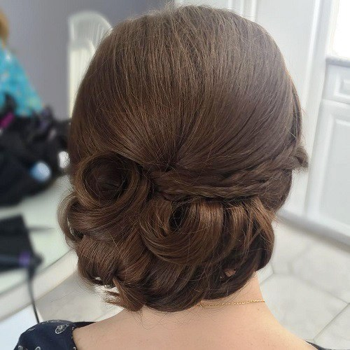 Low Bun for Busy Days