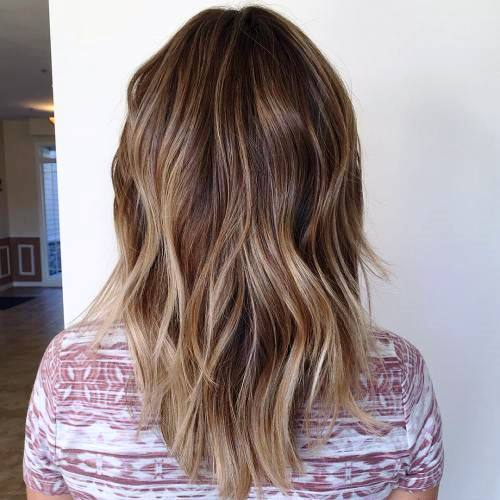 Messy Hair with Subtle Layers
