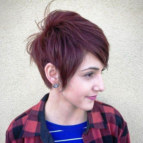 Pretty Punk Pixie Haircut