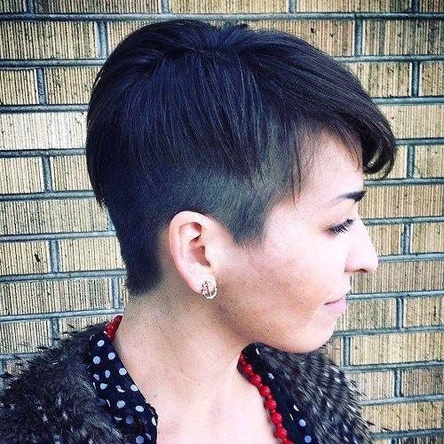 Short Pixie With Side Undercuts