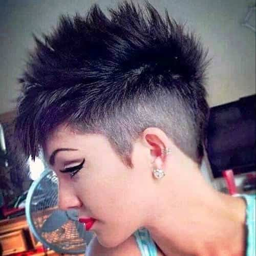 Spiky Short Pixie Haircut