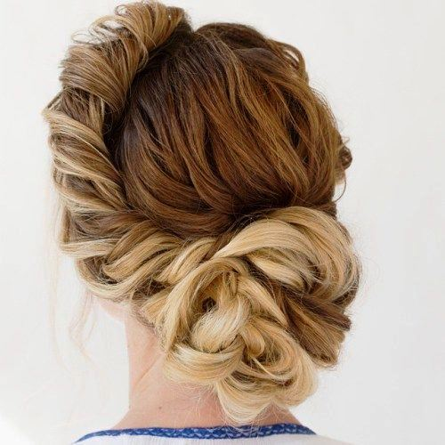 The 'Hurry Up and Save Me' Updo for Long Hair