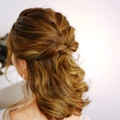 Trendy Prom Updos for Curly Hair