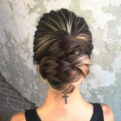 Twisted Updo for Your Twisted Days