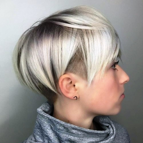 V-Cut Pixie Hairstyle